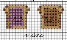 Besties 2 free cross stitch chart