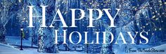 Wishing you all a heartfelt Happy Holidays! Be safe and enjoy yourselves!