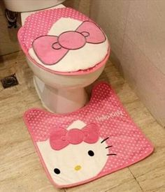 decor for the toliet and around it