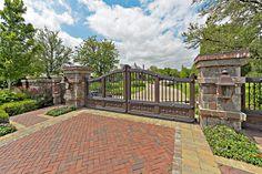 stone driveway entrances - Google Search