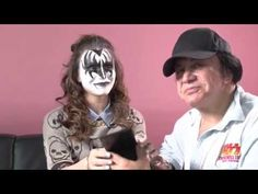 Cosme-Haul: KISS Makeup How-To with Gene Simmons and Daughter Sophie (Coolest Makeup Tutorial Ever: Gene Shows How to Do His KISS Demon Character Stage Makeup)