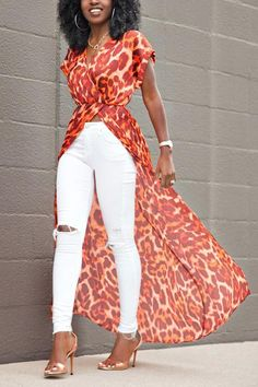 ~DKK ~ Latest African fashion, Ankara, kitenge, African women dresses, African p. African Dresses For Women, African Attire, African Fashion Dresses, African Women, Ghanaian Fashion, Komplette Outfits, Fashion Outfits, Fashion Ideas, Fashion Hacks