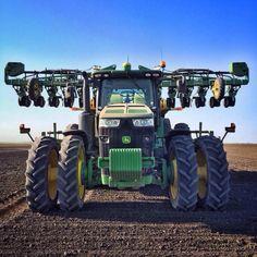 John Deere 8360R JD seeding