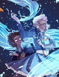 From the webcomic Agents of the Realm by Mildred Louis