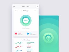 Minimal Mobile App UI - Dashboard (Concept) designed by Ali Sayed. Connect with them on Dribbble; Ui Inspiration, Creative Inspiration, Ios, Daily Ui, Mobile App Ui, Ui Web, Creative Portfolio, Iphone, Minimalism