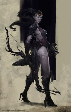 WidowMaker Fantasy by HikariYumiya