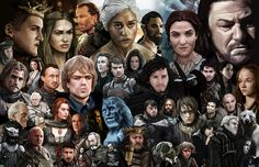 30 Pop Culture Illustrations By Zach Jordan-Game of Thrones