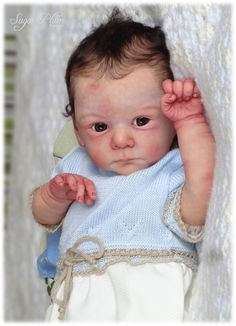 *SUGAR PLUM NURSERY* Reborn baby boy doll - MATHIS by GUDRUN LEGLER