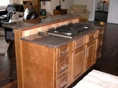 Kitchen Island With Cooktop island cooktop | detail installing cooktop in a kitchen island is