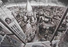 Drawing of a Metropolis