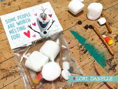 Olaf Valentine Printable  |  Lori Danelle