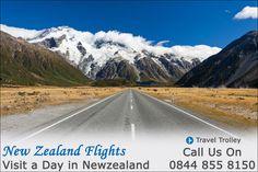 Cheap Flight Tickets to New Zealand