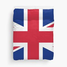 UK Flag Union Jack by ArgosDesigns Duvet Cover Sizes, Duvet Covers, Great Britain Flag, Uk Flag, Canvas Prints, Art Prints, Union Jack, Wall Tapestry