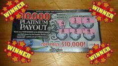 Winning Ticket Platinum Payout NC Lottery