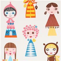 Great fabric for cushions, maybe even for grown-up girls :-) by Robert Kaufman (http://www.modes4u.com/en/kawaii/p11627_white-big-doll-fabric-by-Robert-Kaufman-from-the-USA.html)