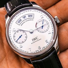 ANNUAL // I can't be indifferent to the beautiful IWC Portugieser Annual Calendar!    #iwc #iwcportuguese #watchporn #gentleman #style #imageconsultant #personalstylist #gentlemanslifestyle #italiansdoitbetter #italiangentleman #theitaliangent #italianstyle #luxury #luxurylife #luxurytoys #luxurylifestyle #petermazzei #attire #dapper #dapperedman #dapperstyle #manhattan #nyc #newyork #bespoke #luxurywatch #car #sportscar #supercar #vintagecar