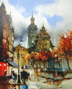 1851 метр над уровнем моря - Сергей Цемрюк. Львов в картинах.