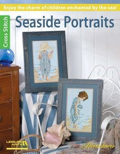 Seaside Portraits Herrschners - Enjoy the charm of children enchanted by the sea! Seaside Portraits…