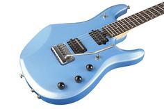 Music ManJohn Petrucci 6 Electric Guitar w/ Piezo BridgeSky Blue Rosewood Inlay Fretboard