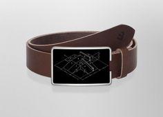 Belt Funbox | Wechselwild Belt with interchangeable designs #belt #buckle #guertel #guertelschnalle #lederguertel #leder #leatherbelt #leather #funbox #sketch #black #white #cool #floting #skateramp