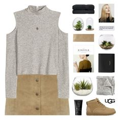 """""""Play With Prints In UGG: Contest Entry"""" by lion-smile ❤ liked on Polyvore featuring UGG Australia, Miss Selfridge, Home Essentials, nineteen, Yves Saint Laurent, Dot & Bo, NARS Cosmetics, Dara Ettinger and thisisugg"""