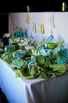 Oh Snap! Green and Blue Camera Photography Themed Baby Shower   Baby Lifestyles