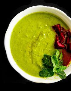 Grüne Spargelerbsensuppe und ein kleines Schwangerschaftsupdate SSW 30 - Healthy Soulfood