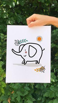 Menu Planner Printable, Printable Shopping List, Printable Wall Art, Playroom Wall Decor, Nursery Decor, Safari Animals, Baby Animals, Photo Frame Display, Safari Nursery