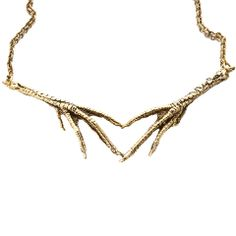 Heart Claw Necklace, $105, now featured on Fab.