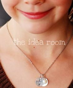 Hand Stamped Necklace - The Idea Room