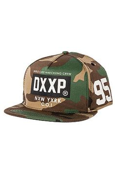The Night Owls Snapback Hat in Woodland by 10 Deep