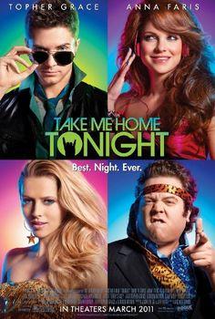"""Assisti """"Take Me Home Tonight"""" (Uma Noite Mais Que Louca). Tenta recriar aquele clima das comédias adolescentes dos anos 80. E até que consegue. Gostei bastante. Mas pode ser aquele caso de filme certo, na hora certa para a pessoa certa (que viveu os eighties). Vai saber..."""