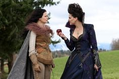 Still of Ginnifer Goodwin and Lana Parrilla in Once Upon a Time