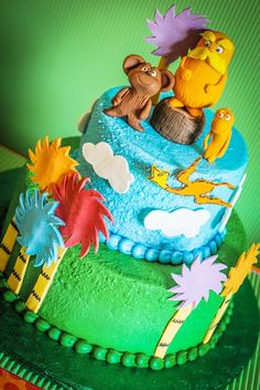 Lorax-Inspired Birthday Party