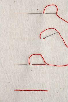 El blog de Dmc: Tutorial de bordado otoñal
