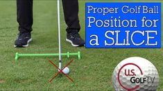 Golf Slice, Golf Lessons, Golfers, Fix You, Irons, Golf Ball, Being Used, Positivity, Change