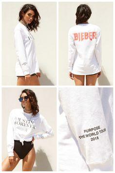 Justin Bieber vai lançar coleção da Purpose Tour com a Forever 21 - Preço, Data e Peças