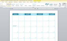 PowerPoint Tutorials academic-calendar-template-for-word-2013-1