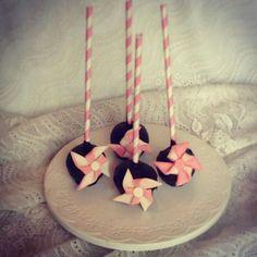 Cake pops with Pinwheels