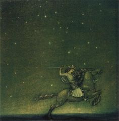 Riddaren rider, John Bauer 1914 - Helena Nyblom - Wikipedia, the free encyclopedia