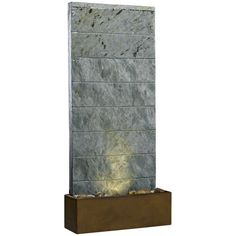 Kenroy Home Brook Natural Slate Table/Wall Fountain