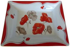 Pocket Poppies Source by FanyPorcelaine Marriage Anniversary, Wedding Anniversary, Ceramic Plates, Ceramic Art, Ceramic Poppies, Limousin, China Painting, Fine Porcelain, Wedding Gifts