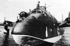 Describes the development history, photos, technical specification and line drawings of the German flying boat BV 222 transport and maritime aircraft. Includes photos, leave your comment and vote for your favorite aircraft. Amphibious Aircraft, Ww2 Aircraft, Luftwaffe, Voss, Bristol Beaufighter, Air Festival, Flying Boat, Vintage Airplanes, Historical Pictures