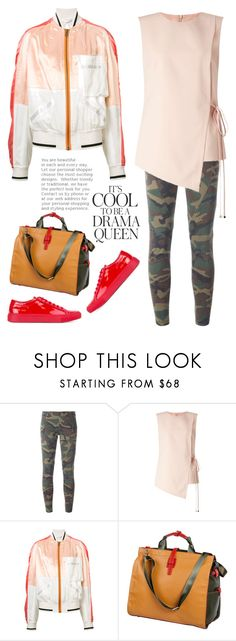 """It's cool to be a drama queen"" by musicfriend1 ❤ liked on Polyvore featuring Emma Watson, Faith Connexion, Miss Selfridge, Haider Ackermann, Sydney Love and Common Projects"