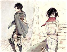 Levi & Mikasa| Shingeki no Kyojin / Attack on Titan
