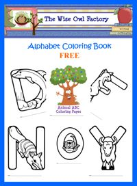 Alphabet coloring pages, this page is awesome has tons of freebies, great for teaching at home