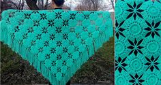 Lovely Crochet Shawl Pattern | Crochet Patterns and Tutorials