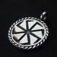 Silver Kolovrat pendant from The Sunken City by DaWanda.com