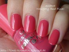 essence Naughty And Pink Nail Polishes, Nails, Pink, Beauty, Nice Asses, Finger Nails, Beleza, Ongles, Nail