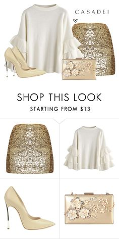 """""""c1"""" by lillyrosalie on Polyvore featuring moda, Casadei i Rimen & Co."""
